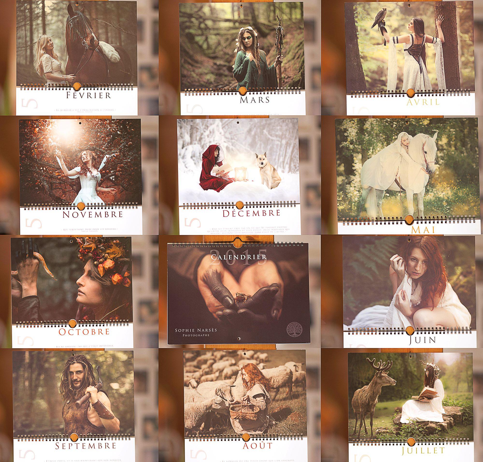 Les calendriers de Sophie Narsès