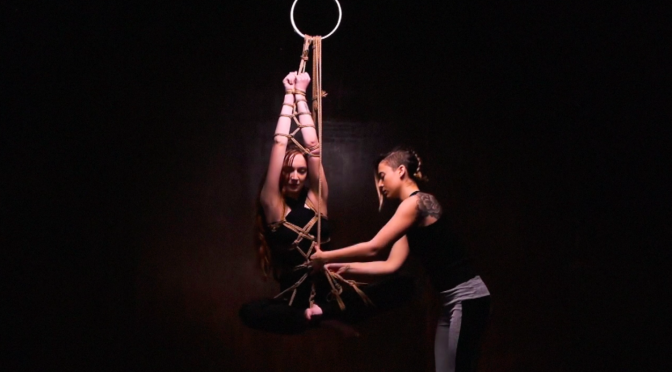 Shibari study – Butterfly harness demo