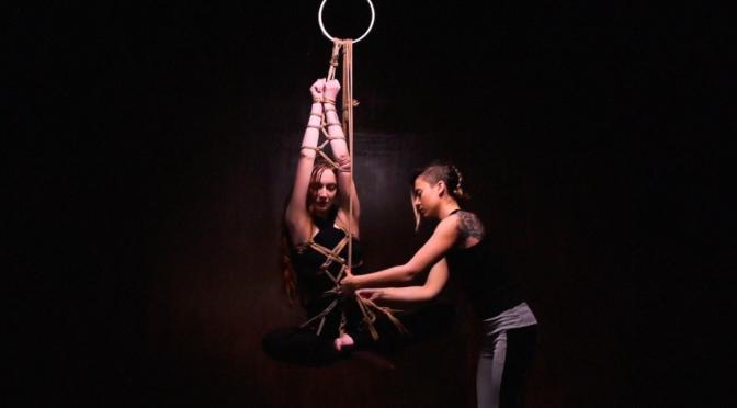 Shibari study – Butterfly harness demo